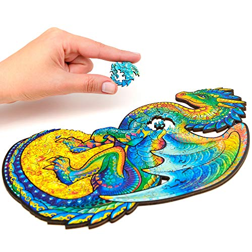 Unidragon Wooden Puzzle Jigsaw, Best Gift For