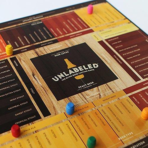 Unlabeled - The Blind Beer Tasting Board Game: Put