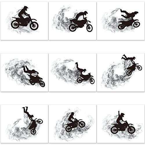 Zonon Motocross Dirt Bike Wall Art Prints