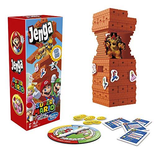 Hasbro Gaming Jenga: Super Mario Edition Game,