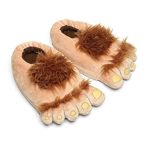 Ibeauti Womens Furry Monster Adventure Slippers,