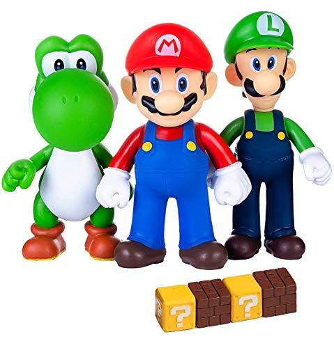 Pantyshka 7 Pcs Mario And Luigi Toys Figurines –