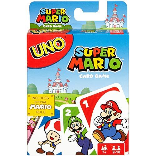 Uno Super Mario, You, Super Mario Bros, And A Game