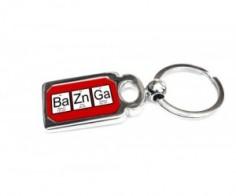 Bazinga Periodic Tbale of Elements Keychain