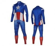 Captain America Winter Suit