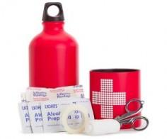 First Aid Aluminum Bottle Kit