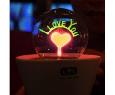 """I Love You"" Lamp"