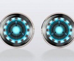 Iron Man Cuff Links
