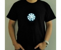 LED Iron Man Shirt