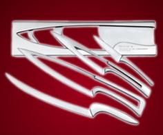 Modern Knives Set