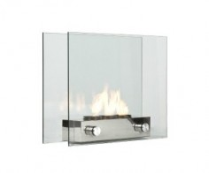 Portable Glass Fireplace