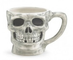 Skeleton Skull Coffee Mug