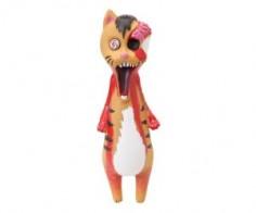 Vinyl Zombie Cat Toy
